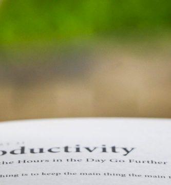 Libro productividad